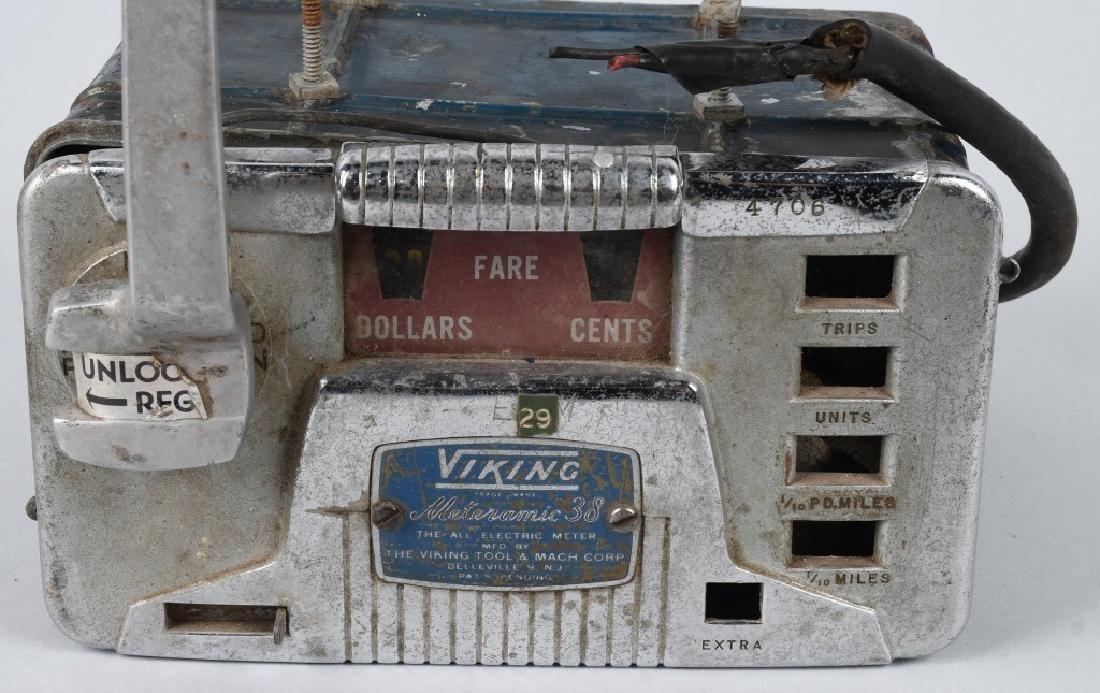 VINTAGE VIKING TAXI CAB METER - 2