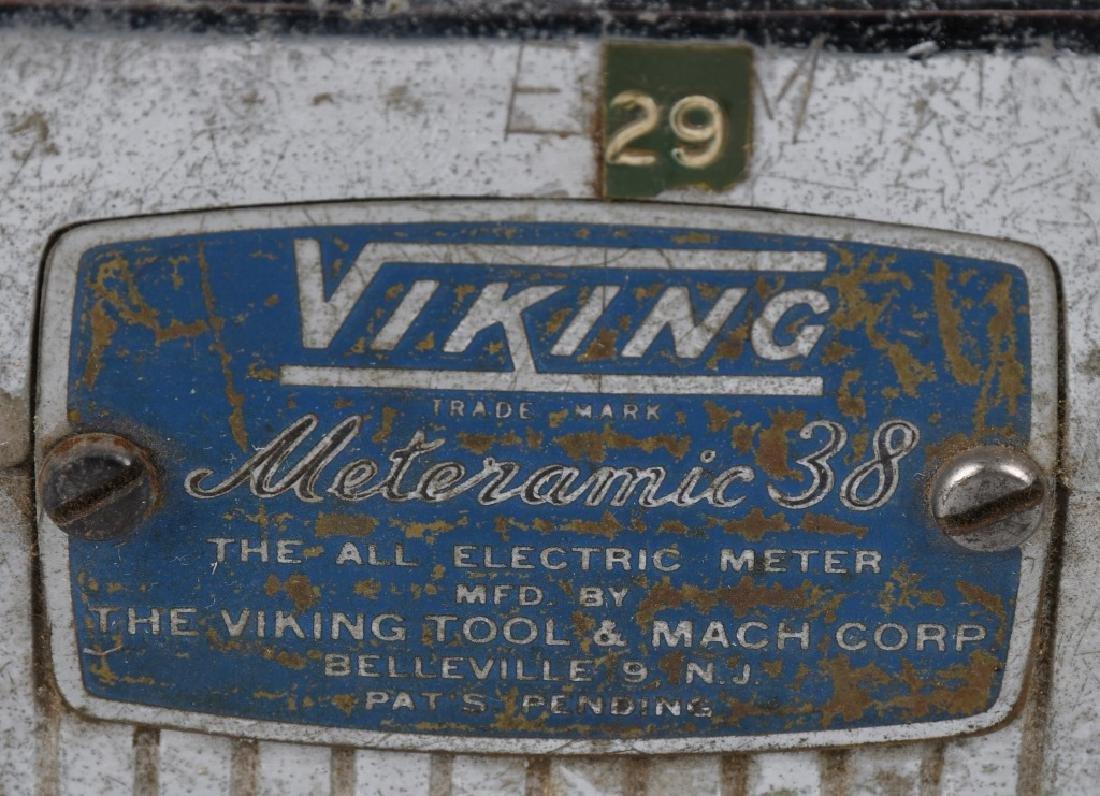 VINTAGE VIKING TAXI CAB METER - 3