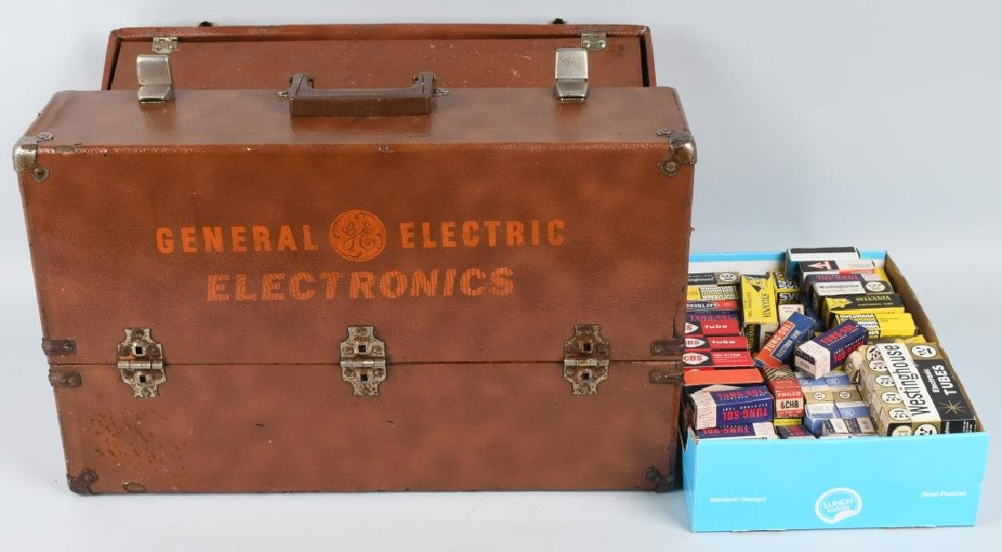 GENERAL ELECTRIC REPAIRMAN CADDY w/ TUBES