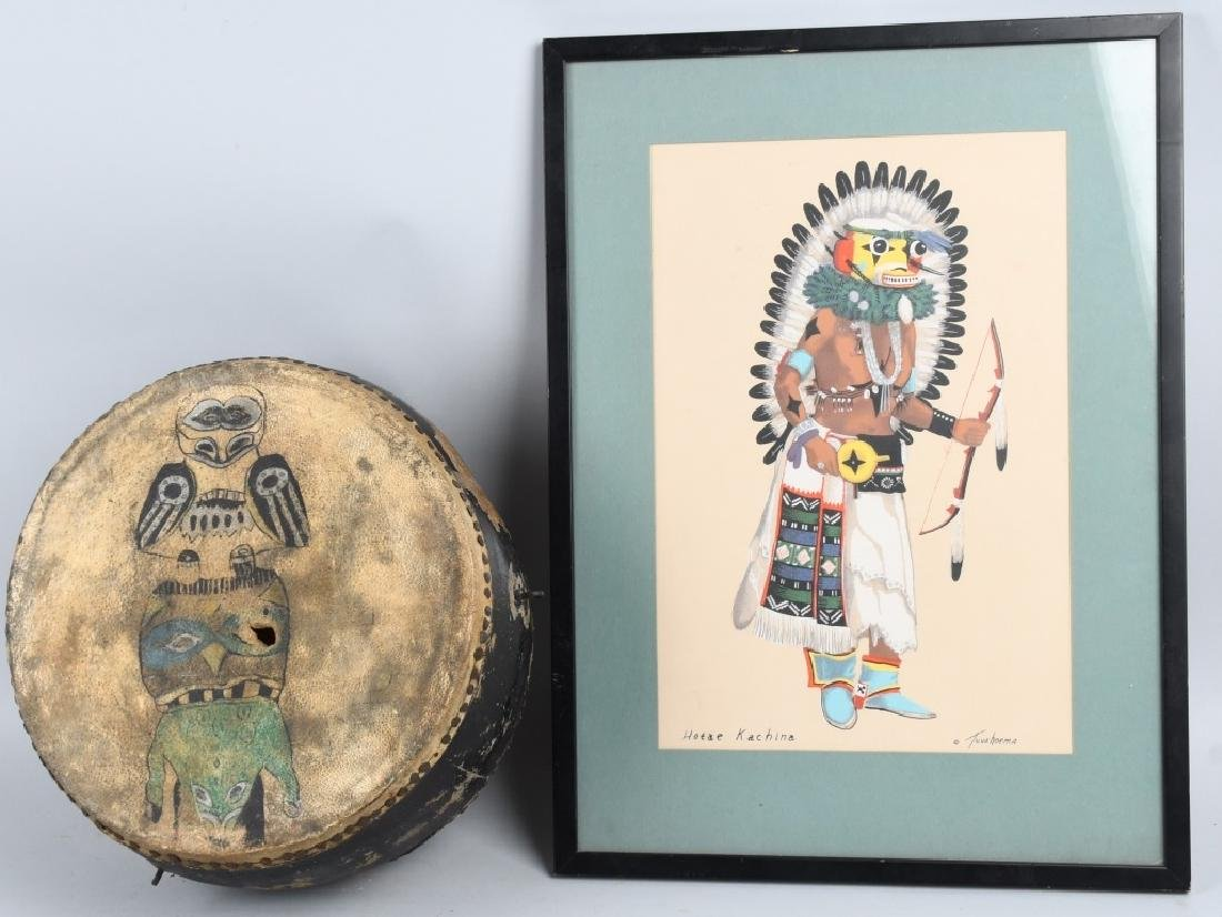 NORTH WEST AMERICA INUIT DRUM and MORE