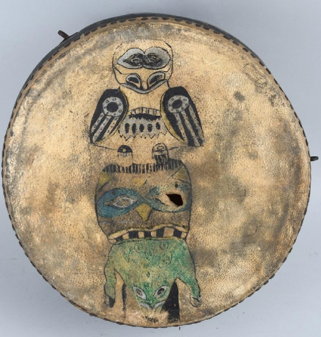 NORTH WEST AMERICA INUIT DRUM and MORE - 2
