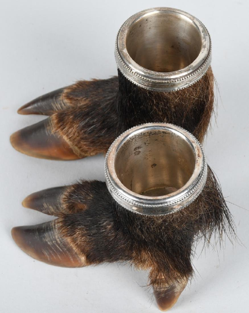 BOAR'S FEET TAXIDERMY, CUPS - 5