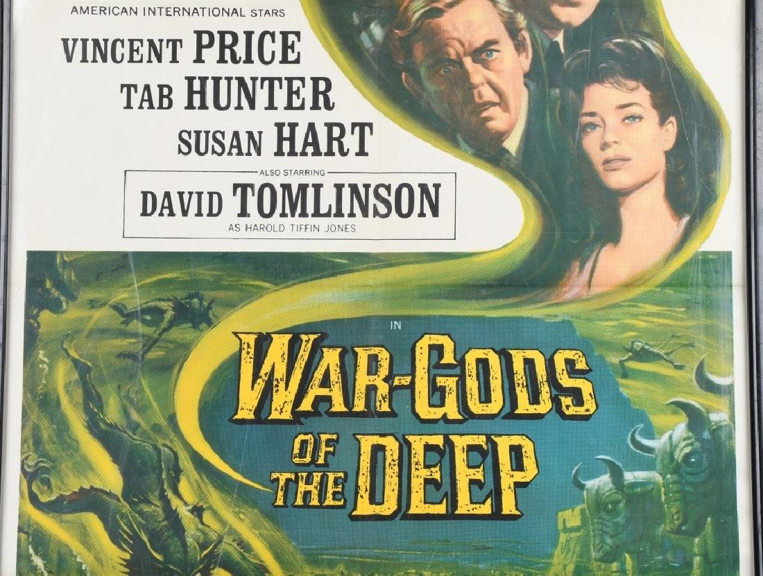 1965 WAR GODS of the DEEP MOVIE POSTER - 3