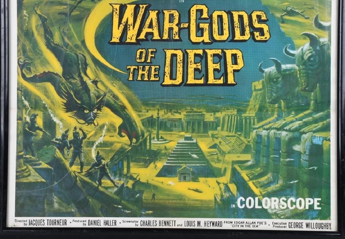 1965 WAR GODS of the DEEP MOVIE POSTER - 4