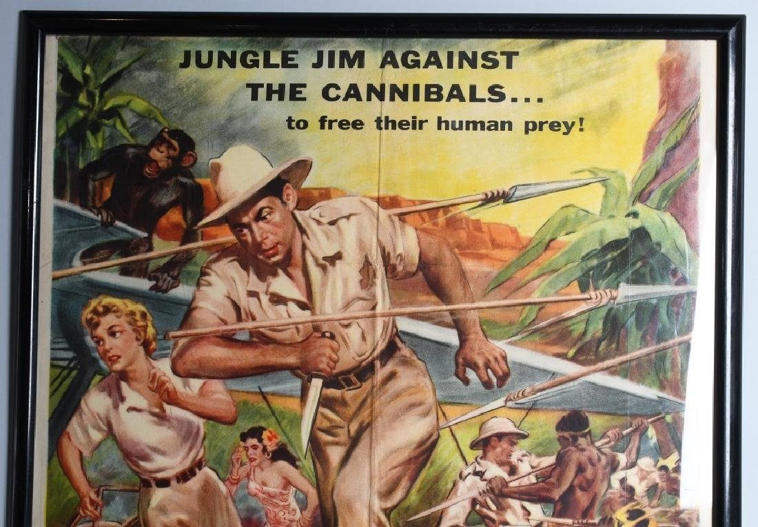 2-VINTAGE JUNGLE MOVIE POSTERS - 2