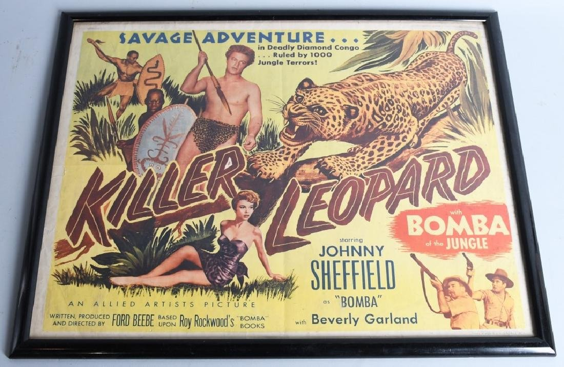 2-VINTAGE JUNGLE MOVIE POSTERS - 4