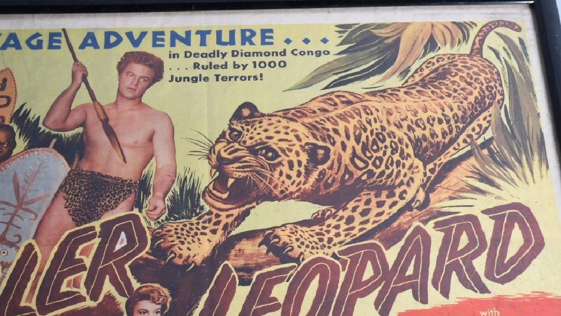 2-VINTAGE JUNGLE MOVIE POSTERS - 6