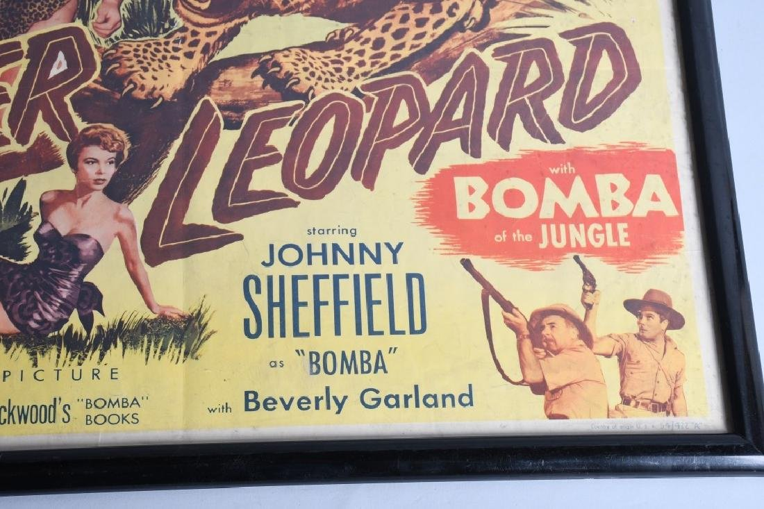 2-VINTAGE JUNGLE MOVIE POSTERS - 7