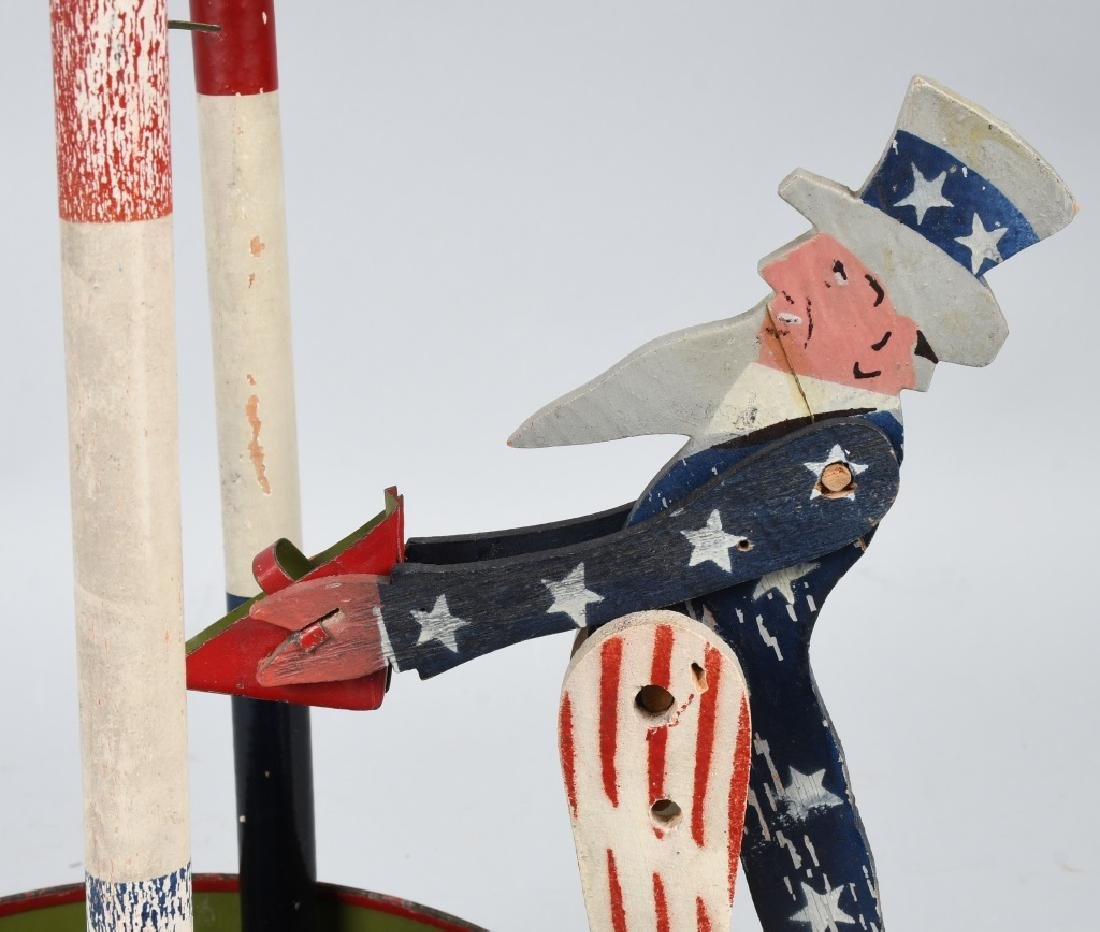 UNCLE SAM YANKEE SAND MILL TOY - 7