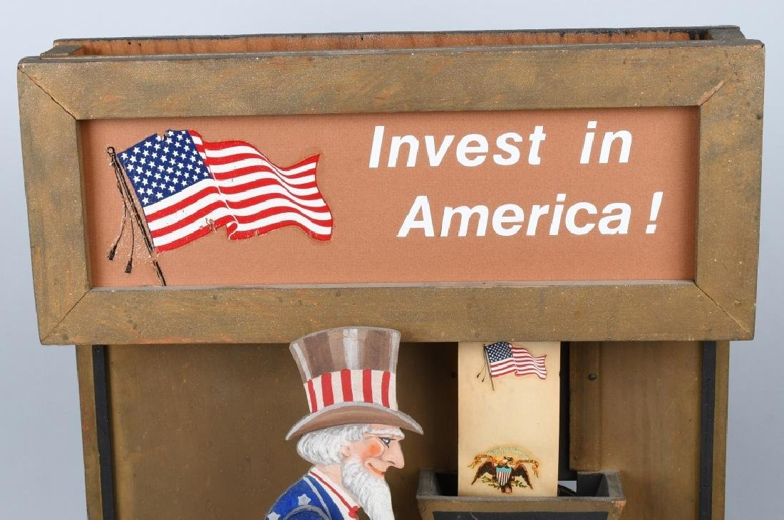 UNCLE SAM INVEST IN AMERICA AUTOMATON - 7