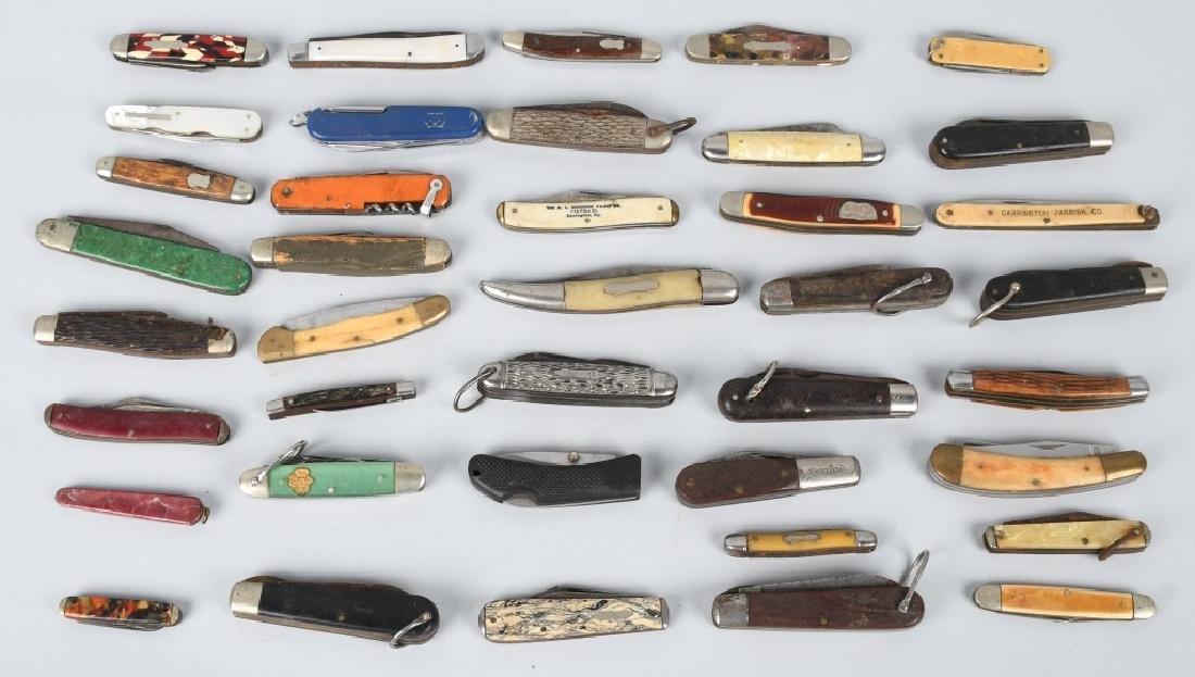 40-POCKET KNIVES