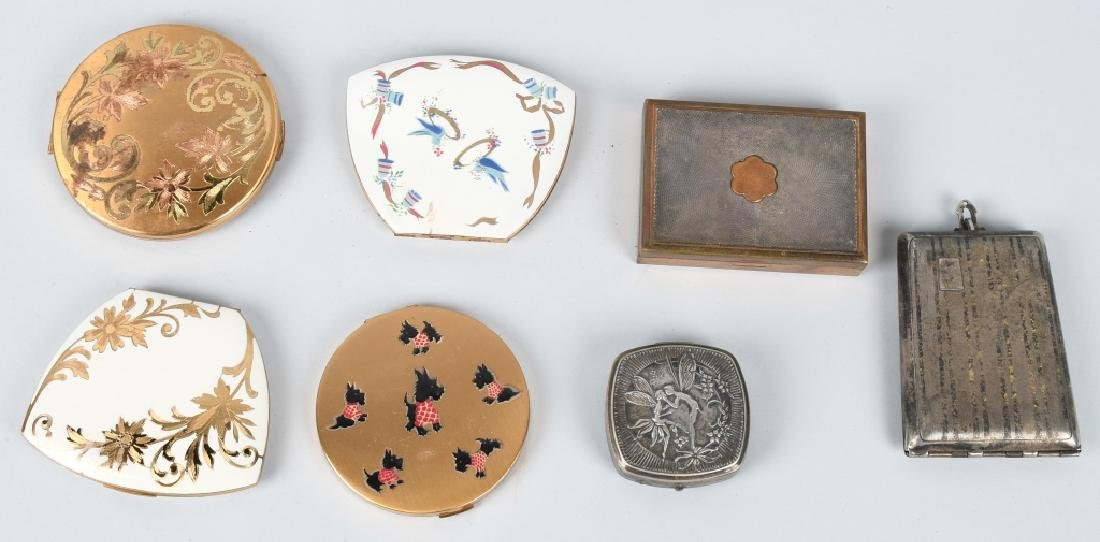 12-VINTAGE LADIES COMPACTS & CIGARETTS - 4