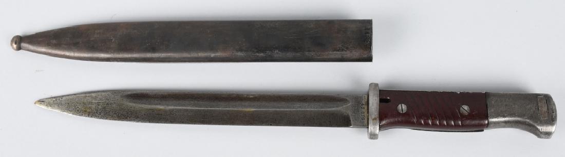 WWII GERMAN K98 BAYONET & PAL KA-BAR KNIFE - 3