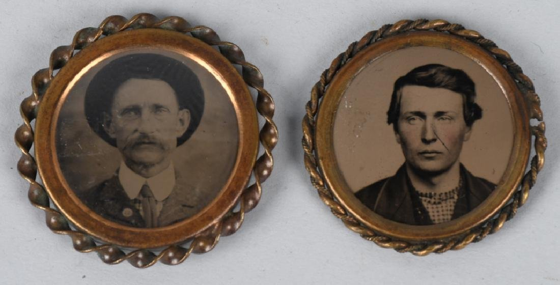 TINTYPE PHOTO PINS, MILITARY FOBS & MORE - 2