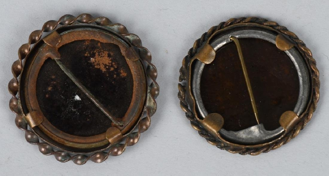 TINTYPE PHOTO PINS, MILITARY FOBS & MORE - 3