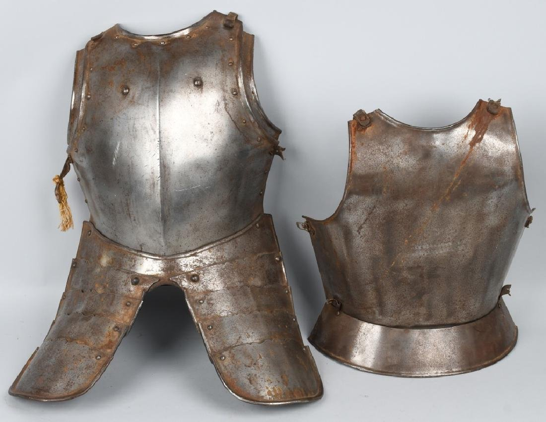 SUIT of ARMOR BREAST PLATE and MORE