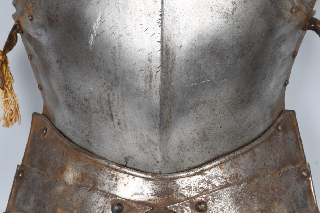 SUIT of ARMOR BREAST PLATE and MORE - 4