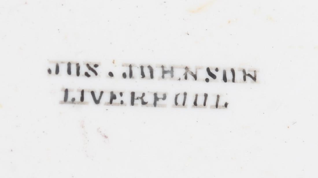 JOS JOHNSON LIVERPOOL KEY WIND SILVER POCKET WATCH - 3