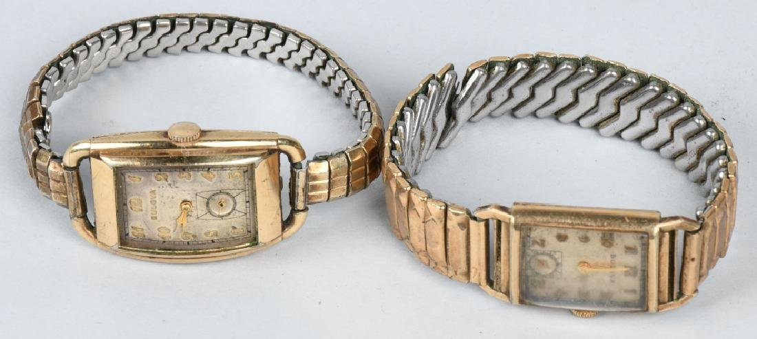 7-10K GOLD FILLED & PLATED WRIST WATCHES - 2
