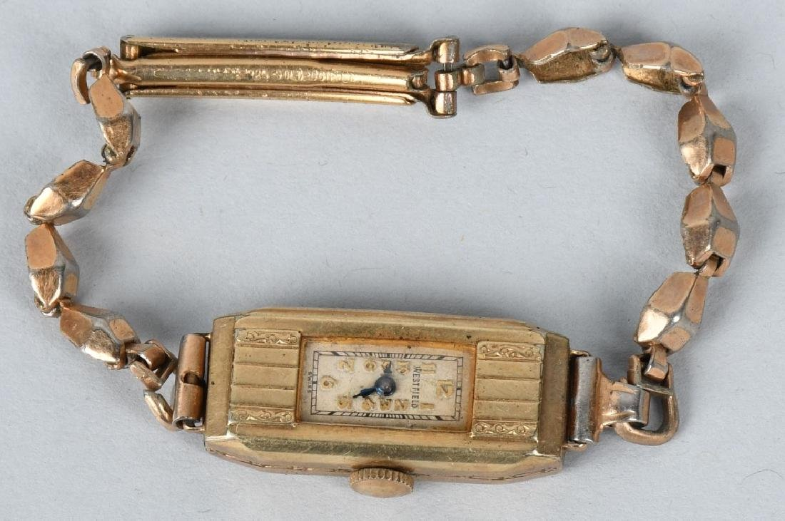 7-10K GOLD FILLED & PLATED WRIST WATCHES - 3