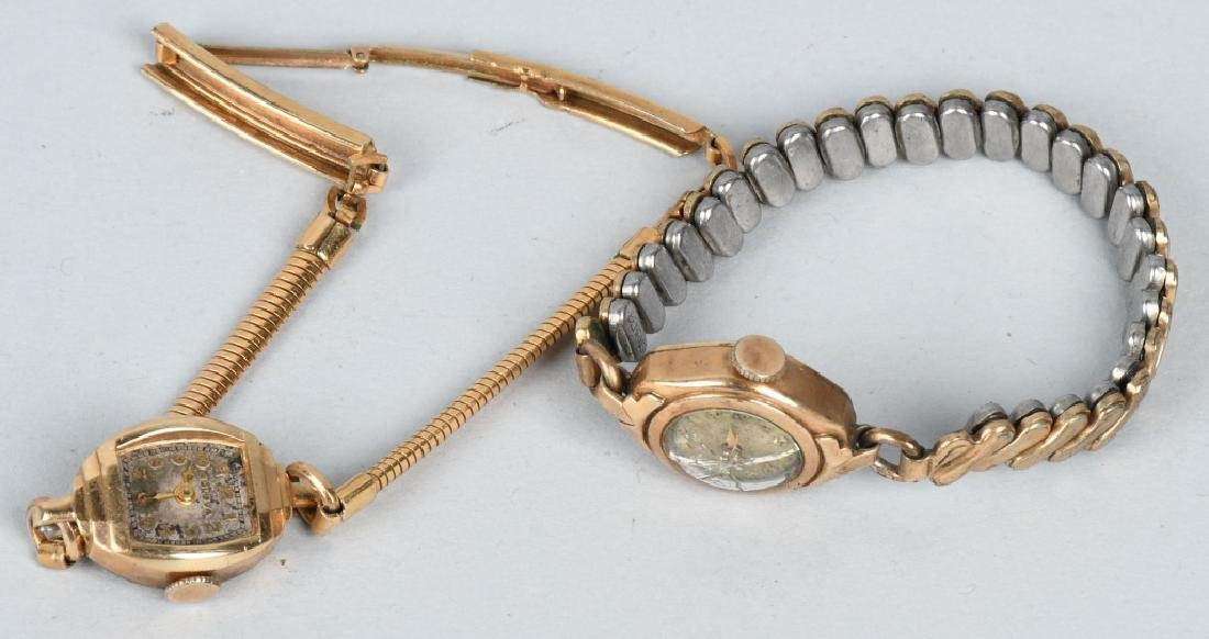 7-10K GOLD FILLED & PLATED WRIST WATCHES - 5