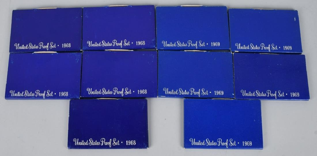 LARGE LOT OF 40% US SILVER PROOF AND MINT SETS - 3