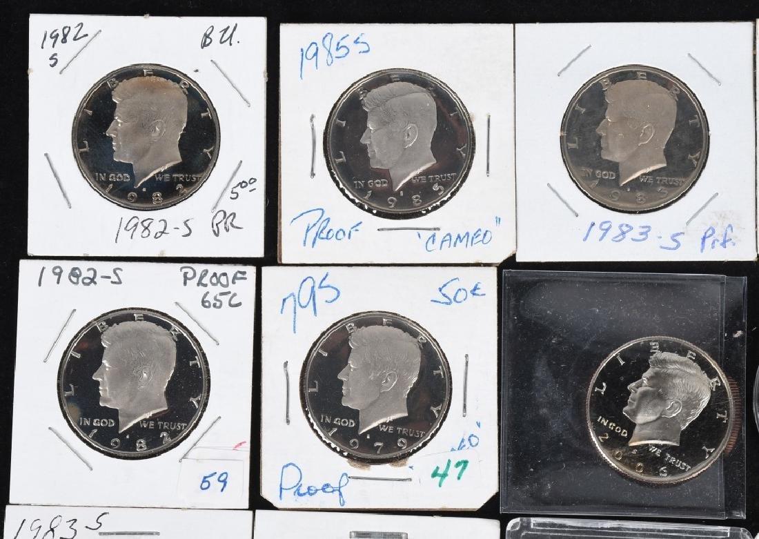 36-HIGH GRADE KENNEDY HALF DOLLARS, 1969-2006 - 2