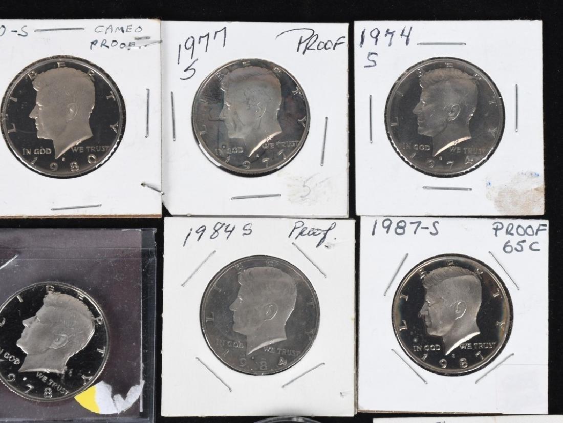 36-HIGH GRADE KENNEDY HALF DOLLARS, 1969-2006 - 3