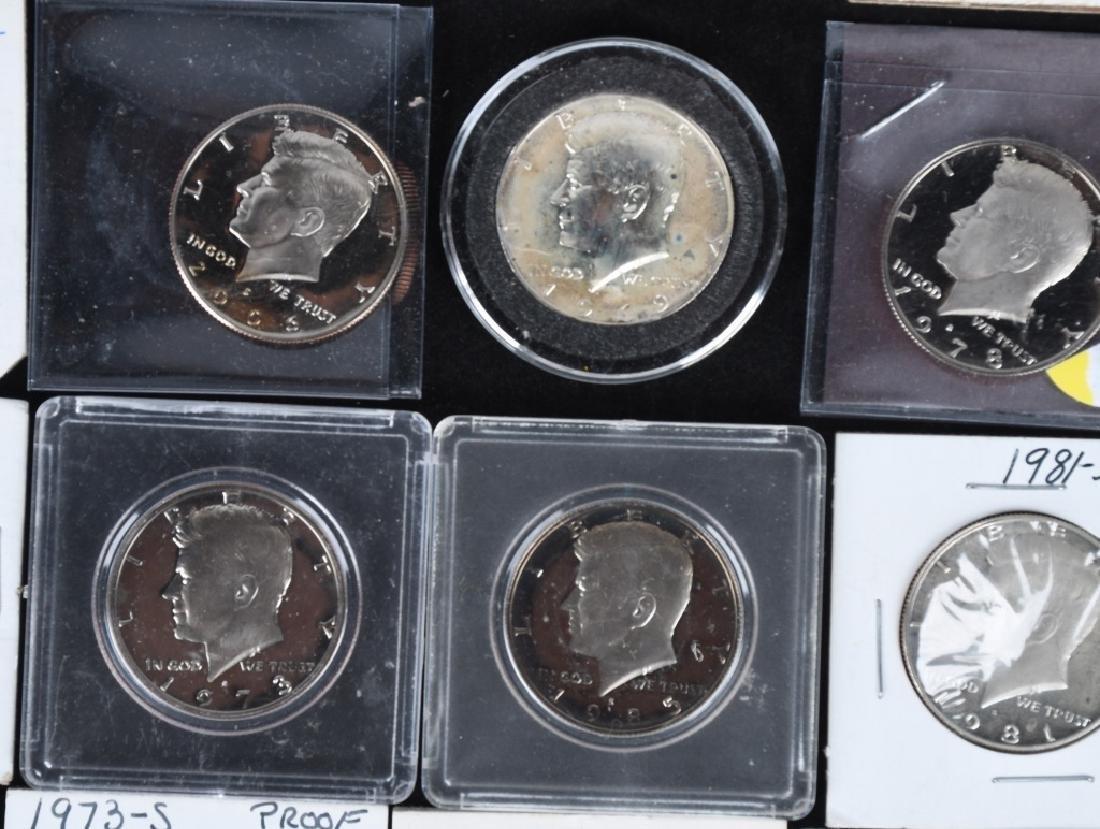36-HIGH GRADE KENNEDY HALF DOLLARS, 1969-2006 - 4