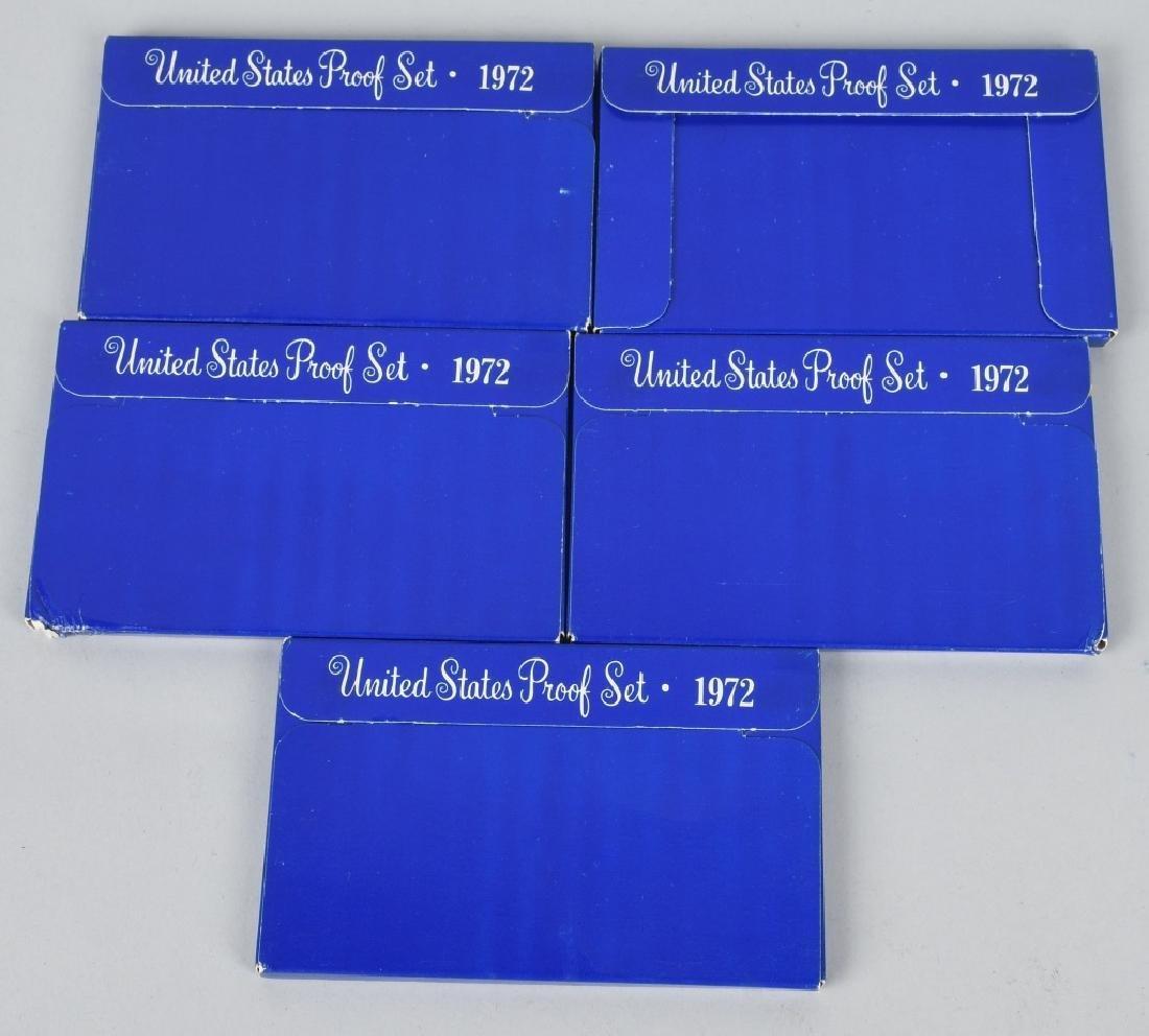 LARGE LOT OF US PROOF & MINT SETS 1970-73 - 2