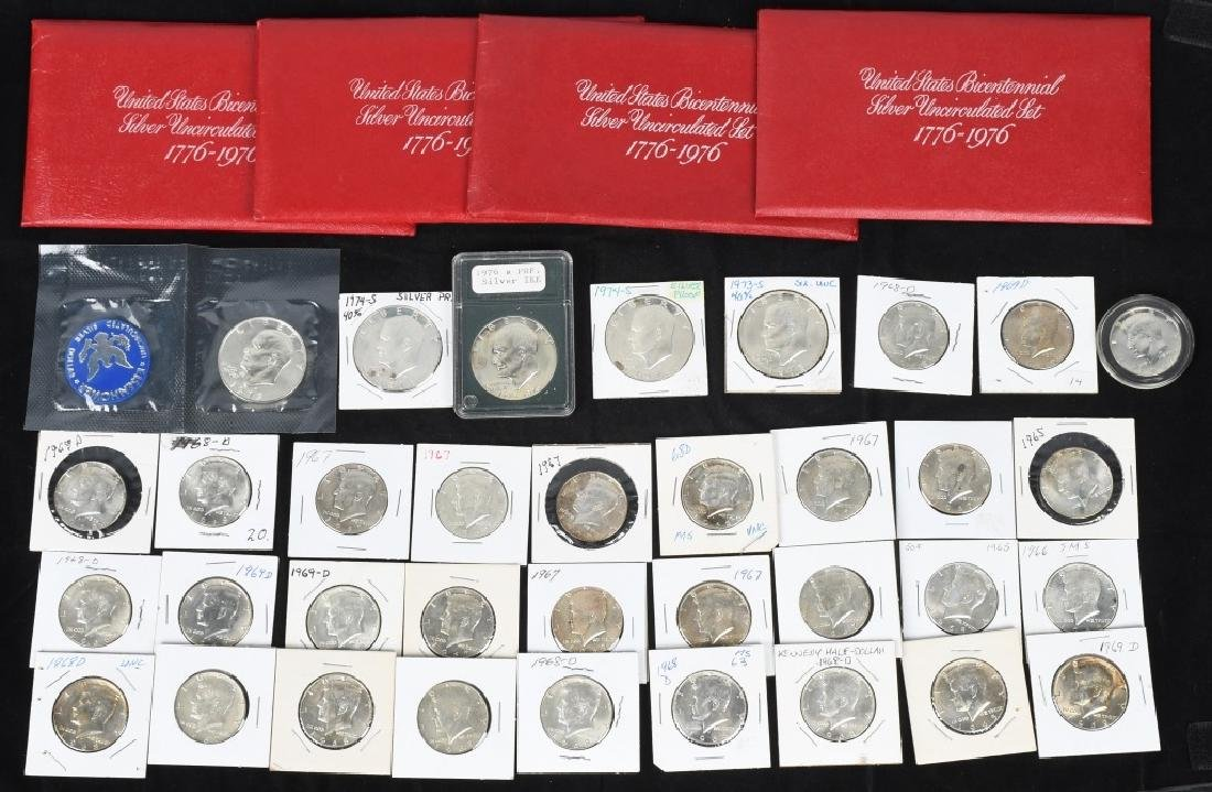 30-40% SILVER KENNEDY HALVES, & MORE