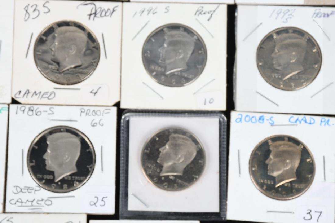 32-PROOF KENNEDY HALF DOLLARS 1981-2015 - 3