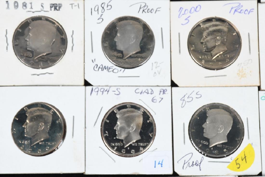 32-PROOF KENNEDY HALF DOLLARS 1981-2015 - 4