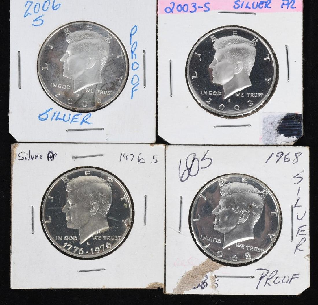 18-SILVER KENNEDY HALF DOLLARS, 1968-2006 - 5