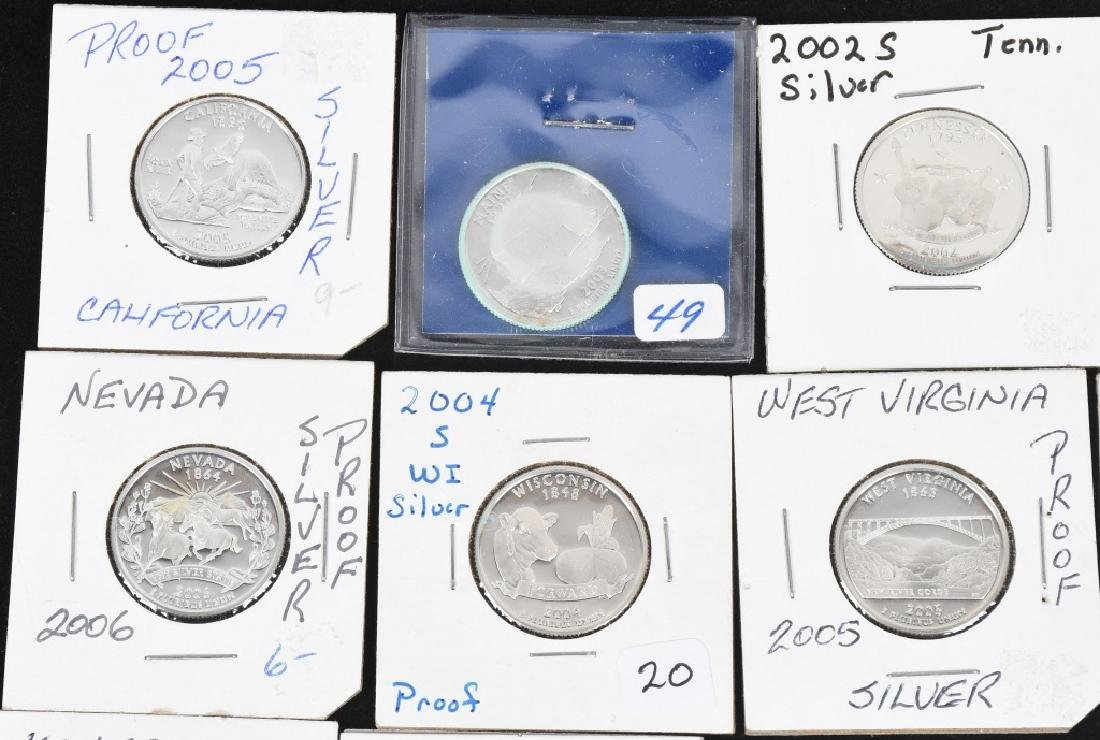 22-SILVER WASHINGTON QUARTERS 2000-2006 - 2