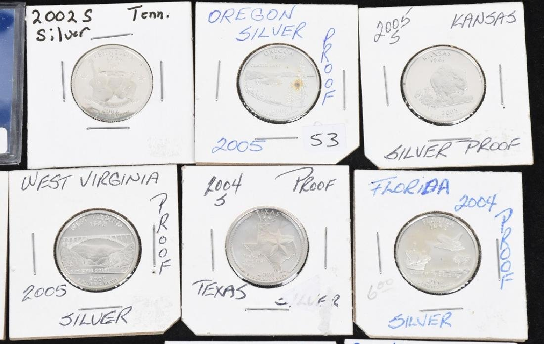 22-SILVER WASHINGTON QUARTERS 2000-2006 - 3