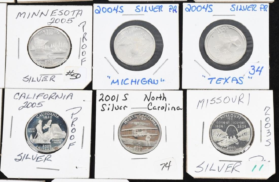 22-SILVER WASHINGTON QUARTERS 2000-2006 - 4