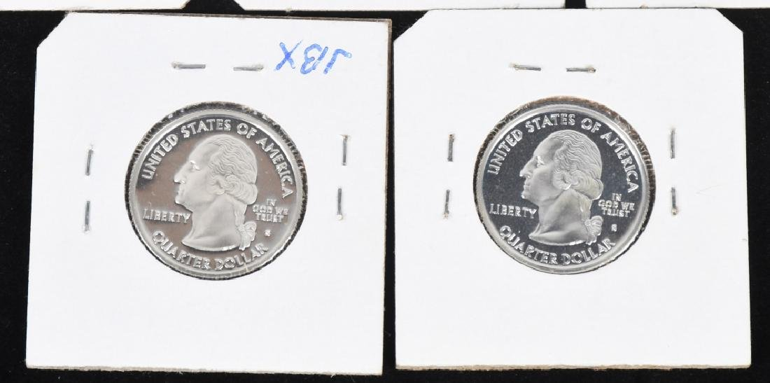 22-SILVER WASHINGTON QUARTERS 2000-2006 - 6