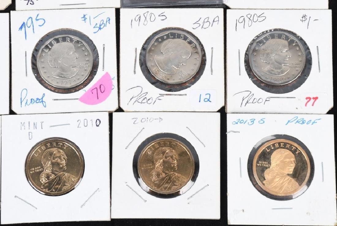 25- U.S. DOLLARS, IKE, SUSAN B. ANTHONY & MORE - 4