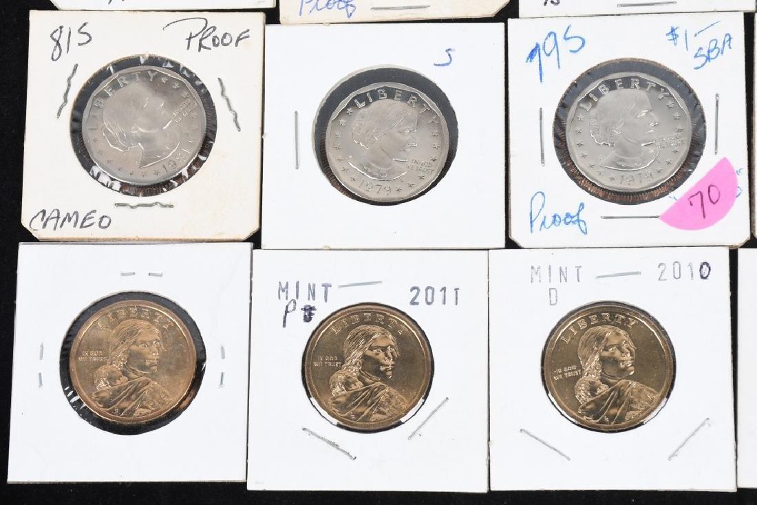 25- U.S. DOLLARS, IKE, SUSAN B. ANTHONY & MORE - 5
