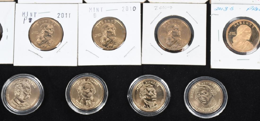 25- U.S. DOLLARS, IKE, SUSAN B. ANTHONY & MORE - 6