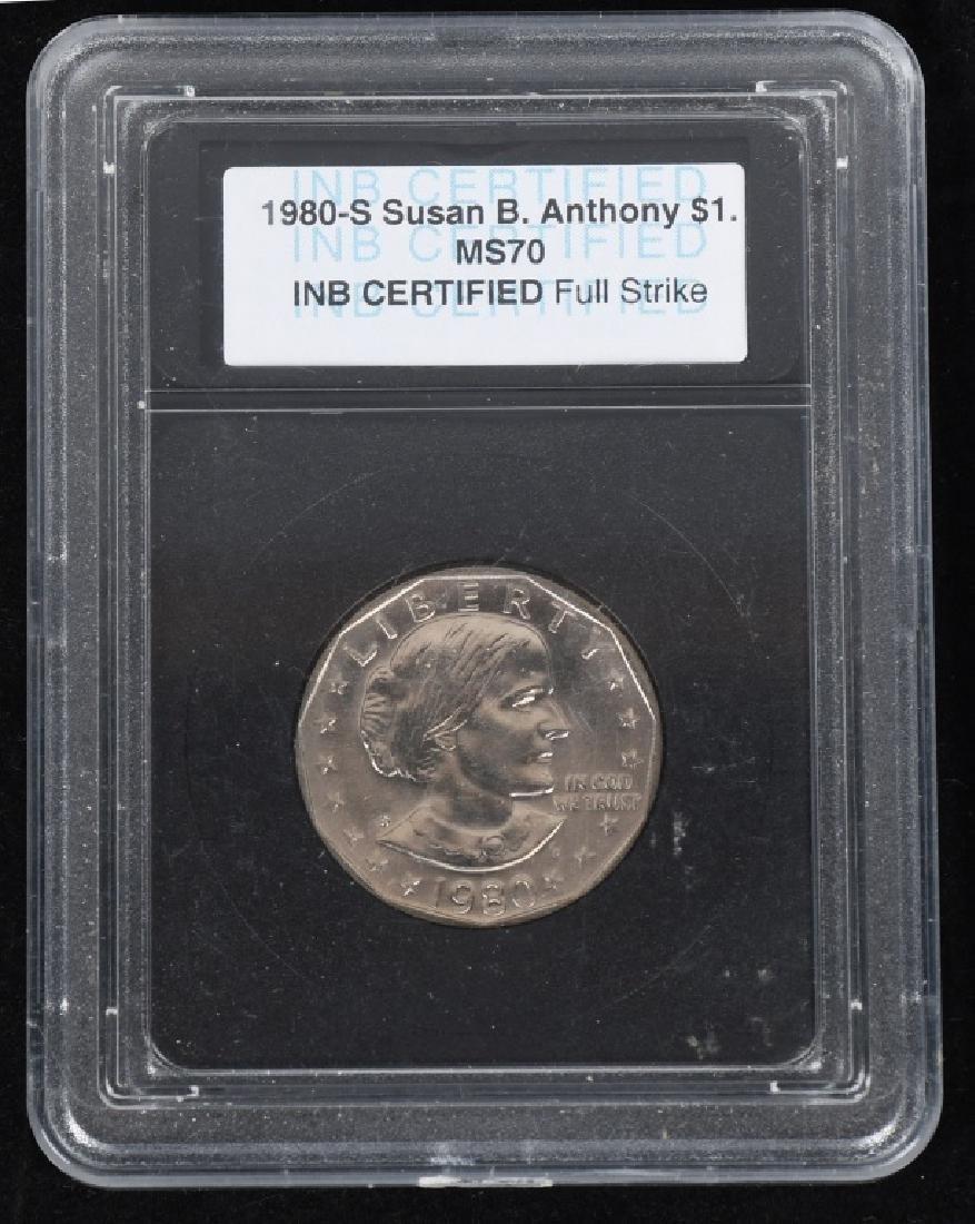 25- U.S. DOLLARS, IKE, SUSAN B. ANTHONY & MORE - 7