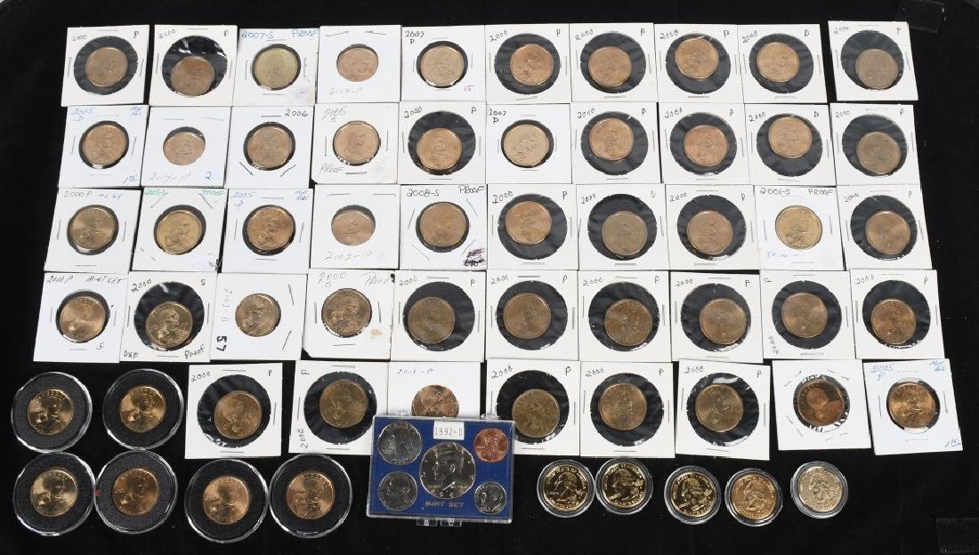54- U.S. DOLLARS, SACAGAWEA, & MORE