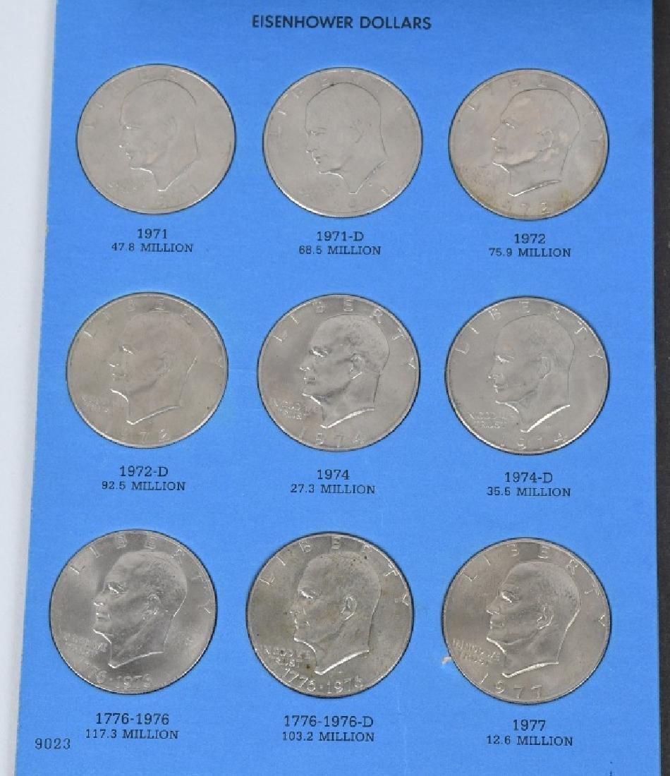 39-U.S. DOLLARS IKES & SUSAN B. ANTHONY 1971-1981 - 2