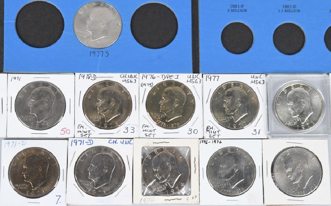 39-U.S. DOLLARS IKES & SUSAN B. ANTHONY 1971-1981 - 5