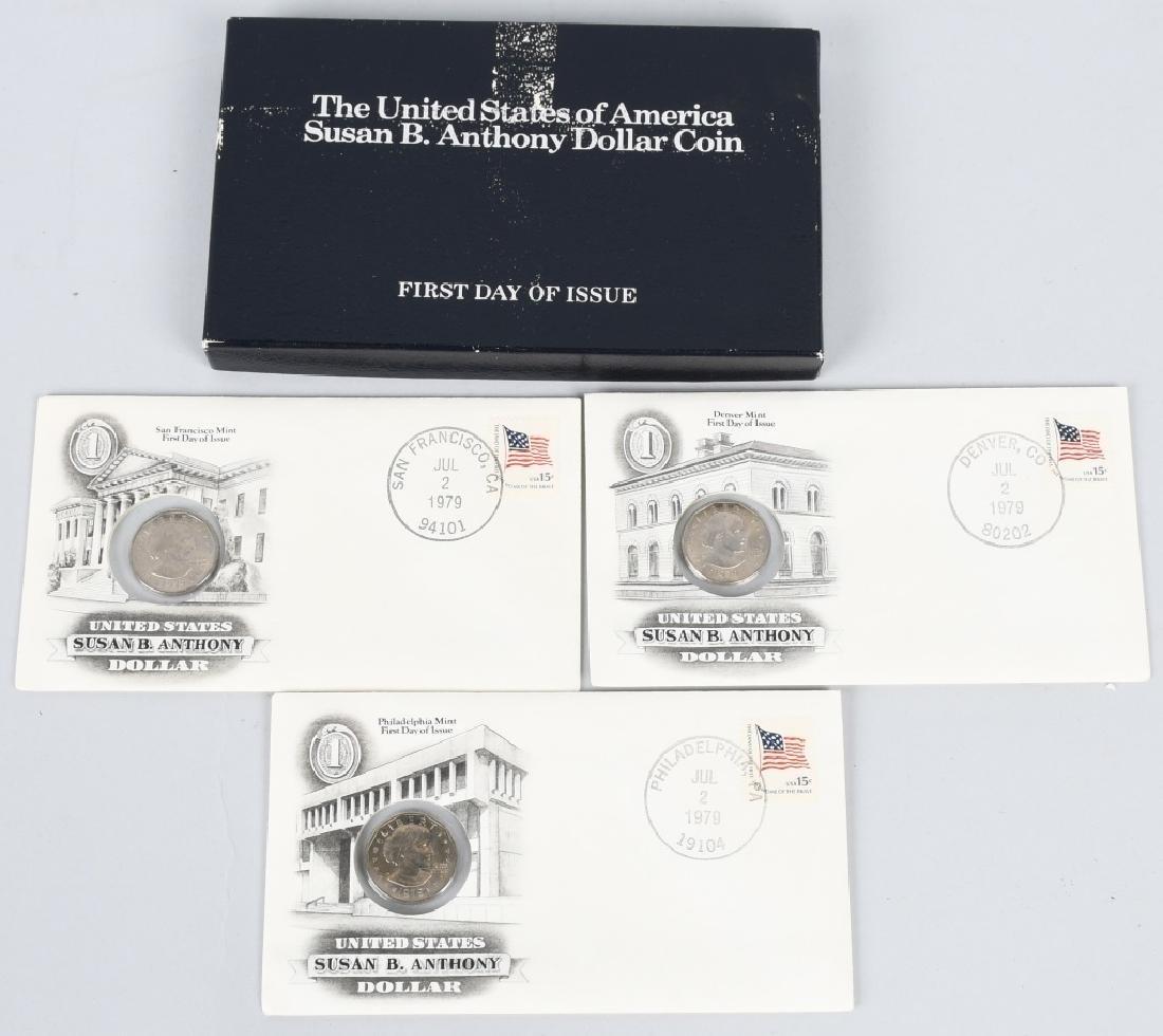 39-U.S. DOLLARS IKES & SUSAN B. ANTHONY 1971-1981 - 7