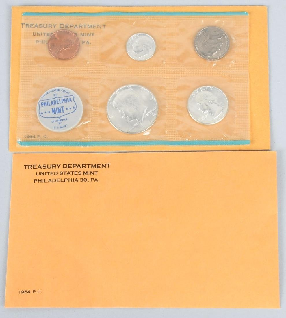 US PROOF & MINT COIN LOT, 1964-2008 - 2