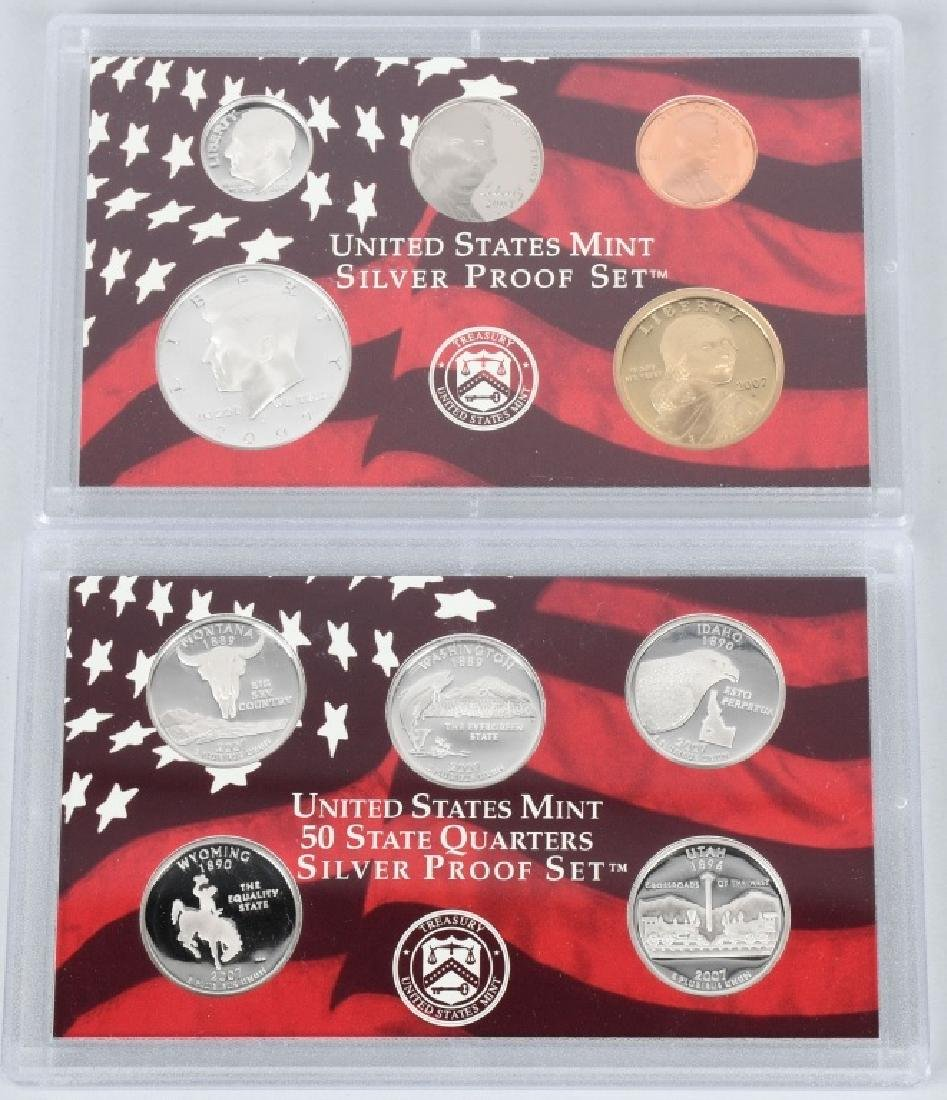 US PROOF & MINT COIN LOT, 1964-2008 - 4
