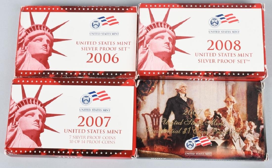 US PROOF & MINT COIN LOT, 1964-2008 - 5
