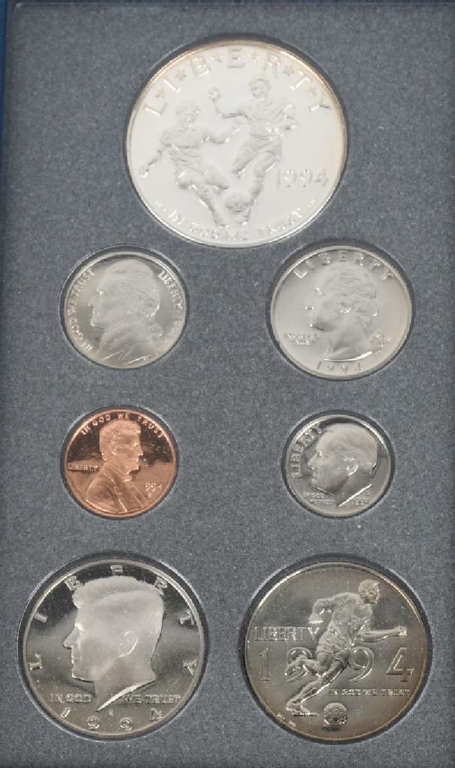 3-US MINT PRESTIGE SETS, 1983, 1984 & 1994 - 2